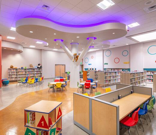 City of El Paso Richard Burges Library Renovation