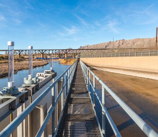IBWC American Dam Catwalk Repair